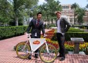 Kim Sanderhoff & Johan Bender, Founders-Free Bike Project